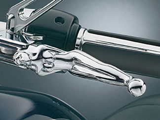 Kuryakyn Silhouette Levers for 1982 - 1995 H-D Models