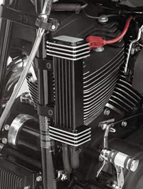 Jagg Deluxe Oil Cooler System for HD Touring Models 1984 - 2008 , 1984 - 2015 Softail, 1991 - 2015 Dyna & 1986 - 2015 Sportster