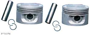 Drag Specialties Piston Kit for 1985 - 1999 Evo Big Twin Std size - 8.5:1 Compression Ratio