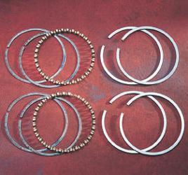 Hastings Piston Rings - Std Size - Evo Engines 1984 - 1999
