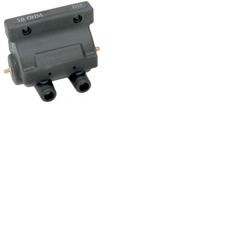 HCW - Drag Specialties 12V Performance Ignition Coil - 5 OHM