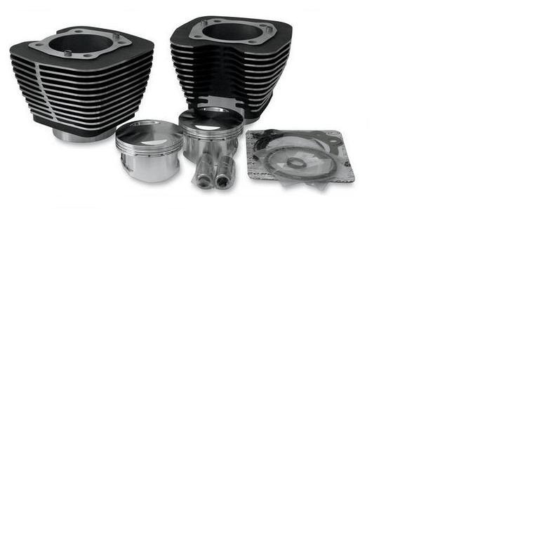 Revolution Bolt On 98 Cubic Inch Big Bore Kit for 1999 - 2006 Twin Cam Models - Black