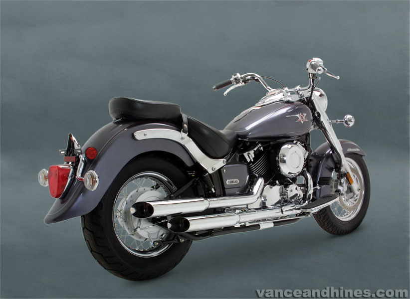 HCW - Vance and Hines Cruzers for V Star 650 2006-2010