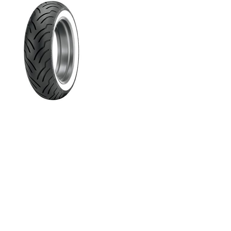 Dunlop American Elite Premium Replacement Tire  Front  13090B16 Wide  White Wall