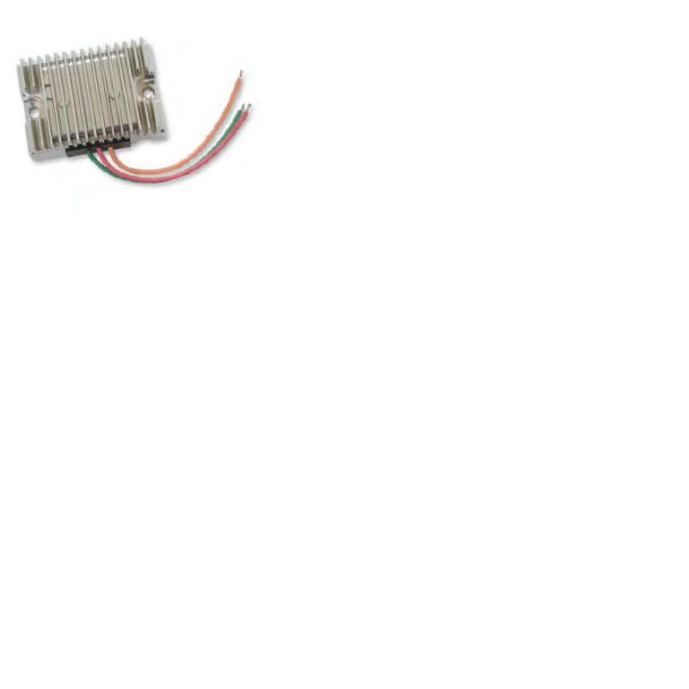 HCW - Drag Specialties Chrome Voltage Regulator for 1966 - 1969