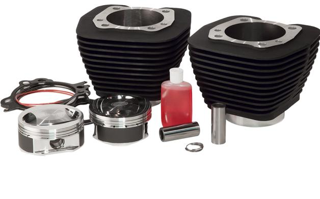 Revolution Performance 98 Cubic Inch Big Bore Kit for 1999 - 2006 Twin Cam - 10.5:1 Pistons