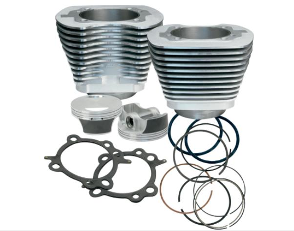 S&S 97 Cubic Inch Big Bore Kit for Twin Cam 1999 - 2006 - Silver
