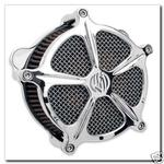 Roland Sands Design Venturi Air Cleaner for 2001 Up Twin Cam - Chrome