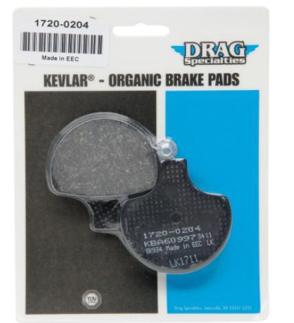 Rear Organic Brake Pads 2012-2014 Harley Davidson FLSTN Softail yk Front