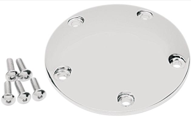 Drag Specialties Domed Points Cover for Twin Cam Models - Chrome