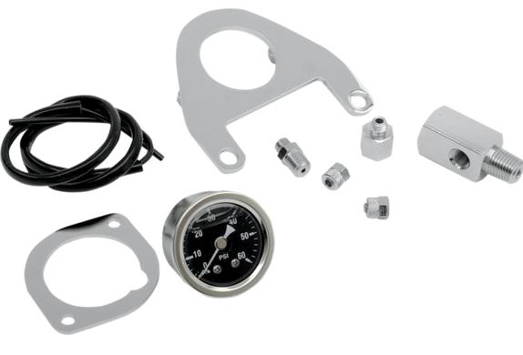 Drag Specialties Oil Pressure Gauge for Twin Cam Models