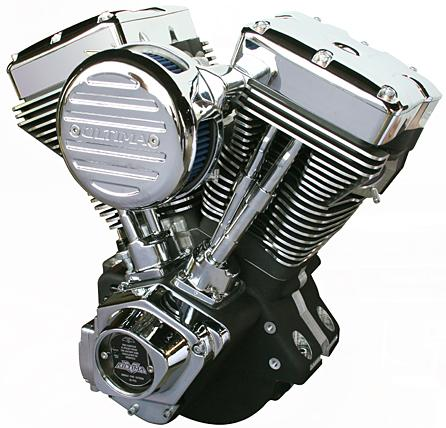 Ultima 4.00 Bore 113 Cubic Inch Engine - Black and Chrome Finish
