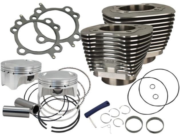 S&S Cylinder Kit 98 Cubic Inch 2001 - 2006 Twin Cam Engines - Black - 910-0481