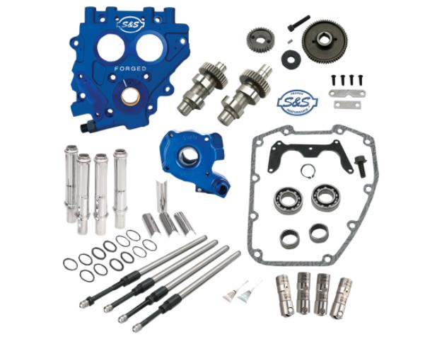 S&S 510G Gear Drive Cam Kit with Billet Oil Pump, Billet Cam Plate and Gears for 1999 - 2006 Twin Cam Engines