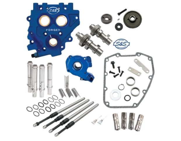 S&S Gear Drive Cam Chest Kit for 2007 - 2016 HD Twin Cam and 2006 - 2016 Dyna - 510G Cams