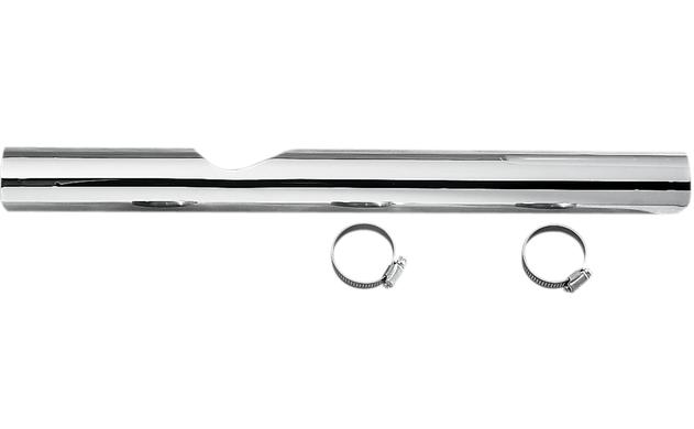 Drag Specialties Right Side Chrome Heat Shield for 1987 - 1991 Touring Models