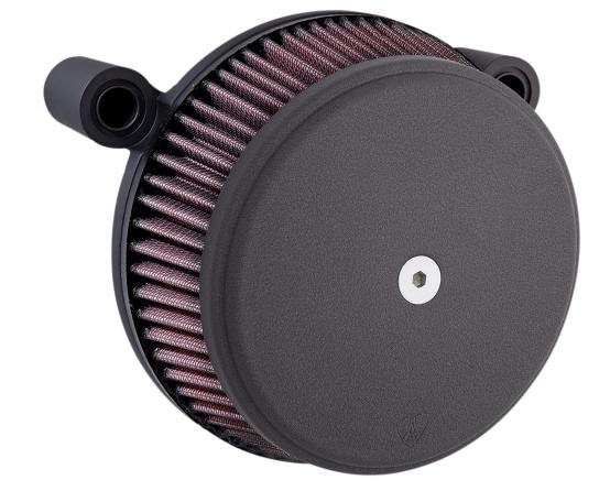 Arlen Ness Big Sucker Stage 1 Air Filter Kit with Black Cover for 2017 - Up HD Touring Models