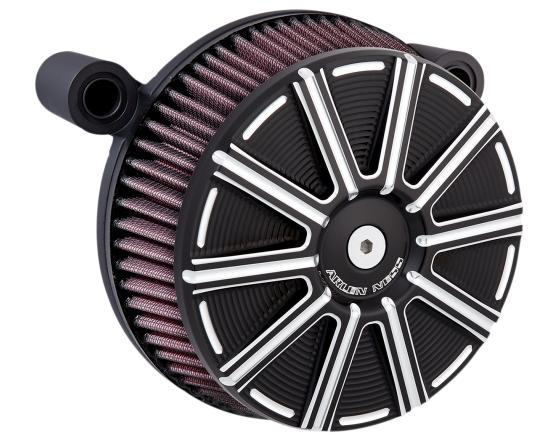 Arlen Ness Big Sucker Stage 1 Air Filter Kit with Black 10 Gauge Cover for 2017 - Up HD Touring Models