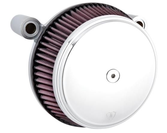 Arlen Ness Big Sucker Stage 1 Air Filter Kit with Chrome Cover for 2017 - Up HD Touring Models
