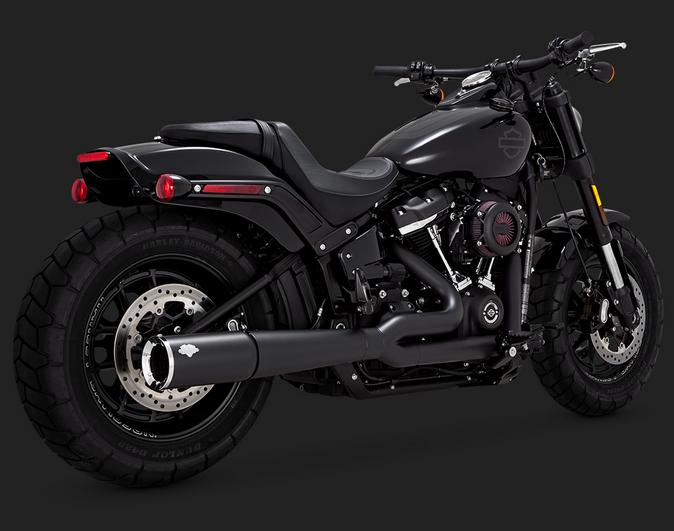Vance and Hines Pro Pipe Black for 2018 - up HD Softails
