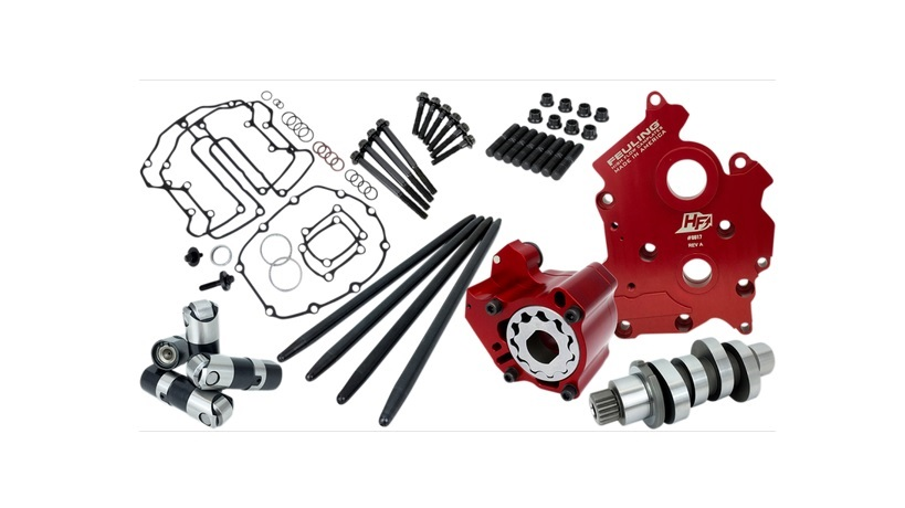 Feuling Race Series Cam Chest Kit with 521 Cam for Water Cooled M8 Engines