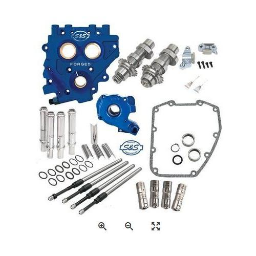 S&S Chain Drive Cam Chest Kit for 2007 - 2017 HD Big Twin and 2006 - 2016 Dyna - 551CE Easy Start Cams