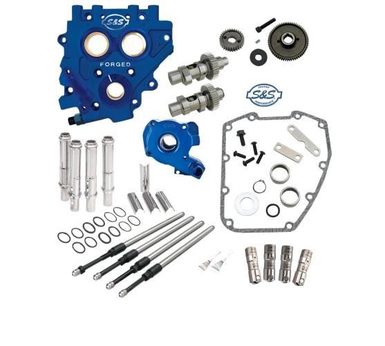 S&S Gear Drive Cam Chest Kit for 2007 - 2017 HD Big Twin and 2006 - 2016 Dyna - 585GE Easy Start Cams