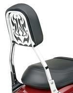 Cobra Steel Backrest Insert - Tribal Style Style