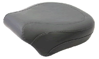 Mustang 14 Inch Wide Vintage Rear Seat For Softails 2006 - later