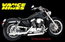 Vance and Hines Straightshots for Sportsters 1986 - 2003