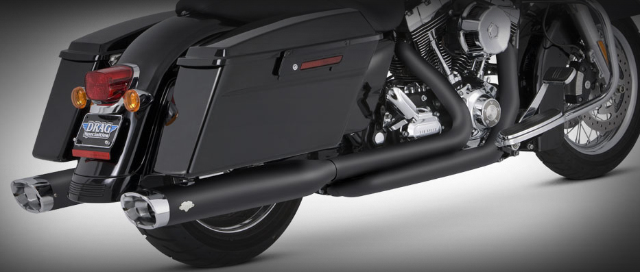 HCW - Vance and Hines True Duals for 2009 - 2016 HD Touring
