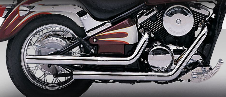 Vance and Hines Straight Shots for Kawasaki 1500 Classic 1996 - 2008