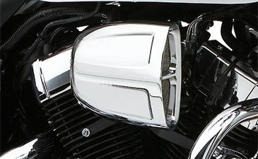 Cobra Saddlebag Supports Chrome fits Honda VT1300CR Stateline 2010-2014