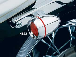 Rear L.E.D. Turn Signal Conversion - New Bullet Style, Red Lens