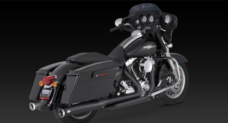 Hcw Vance And Hines True Duals For Harley Touring Models